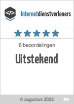 Recensies van webontwikkelaar Yuluma B.V. op www.internetdienstverleners.nl